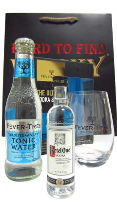 Vodka - Ketel One, Fever Tree Glass & Tonic Gift Set (Hard To Find Whisky Edition) Vodka