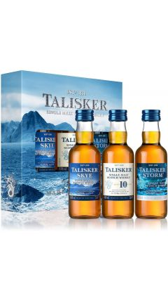 Talisker - Made By The Sea 3 x 5cl Miniature Gift Set Whisky