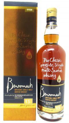 Benromach - Speyside Single Malt 15 year old Whisky