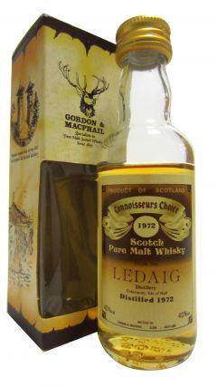 Ledaig - Connoisseurs Choice Miniature - 1972 Whisky