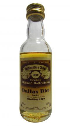 Dallas Dhu (silent) - Connoisseurs Choice Miniature - 1969 Whisky