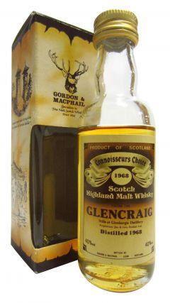 Glencraig (silent) - Connoisseurs Choice Miniature - 1968 Whisky