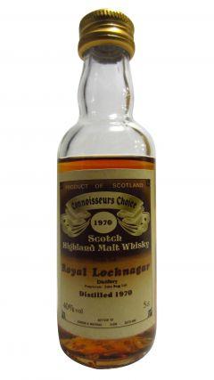 Royal Lochnagar - Connoisseurs Choice Miniature - 1970 Whisky