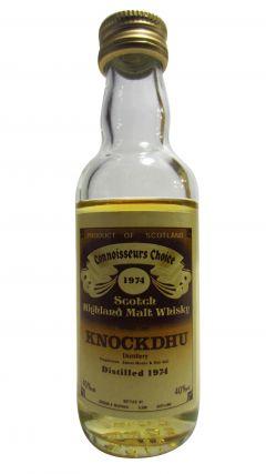 Knockdhu - Connoisseurs Choice Miniature - 1974 Whisky