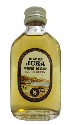 Jura - Pure Malt Scotch Miniature 8 year old Whisky