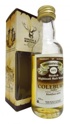 Coleburn (silent) - Connoisseurs Choice Miniature - 1972 Whisky