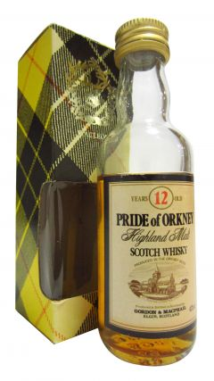 Blended Malt - Pride Of Orkney Miniature 12 year old Whisky