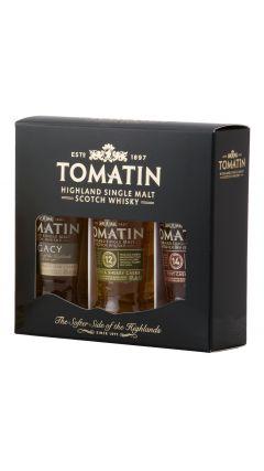 Tomatin - Highland Single Malt 3 x 5cl Miniatures Gift Set Whisky
