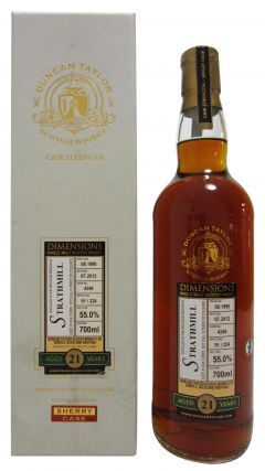 Strathmill - Dimensions Single Malt - 1990 21 year old Whisky