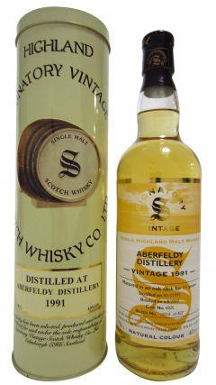 Aberfeldy - Signatory Vintage - 1991 11 year old Whisky