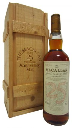 Macallan - Anniversary Malt 25 year old Whisky