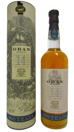 Oban - 200 Years Special Anniversary Editon 14 year old Whisky