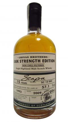 Scapa - Chivas Brothers Cask Strength Edition - 1993 15 year old Whisky