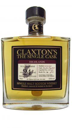 Tullibardine - Claxton's Single Cask - 1993 24 year old Whisky