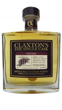 Benrinnes - Claxton's Single Cask - 1997 19 year old Whisky