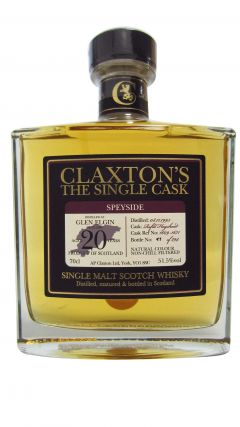 Glen Elgin - Claxton's Single Cask - 1995 20 year old Whisky
