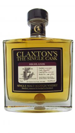 Ben Nevis - Claxton's Single Cask - 1999 17 year old Whisky