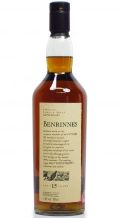 Benrinnes - Flora and Fauna 15 year old Whisky