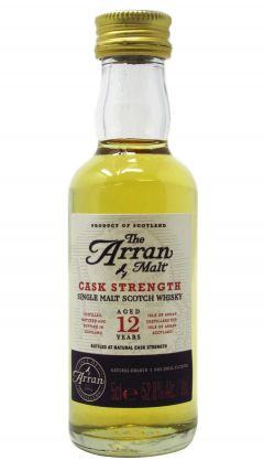 Arran - Cask Strength Miniature 12 year old Whisky