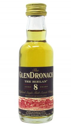 GlenDronach - The Hielan Miniature 8 year old Whisky