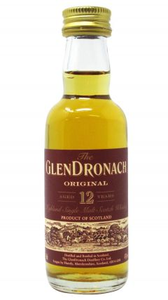 GlenDronach - Original Miniature 12 year old Whisky
