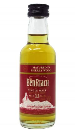 BenRiach - Sherry Wood Single Malt Miniature 12 year old Whisky