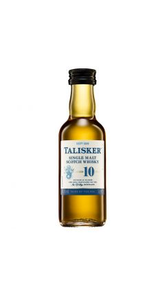 Talisker - Single Malt Scotch Miniature 10 year old Whisky