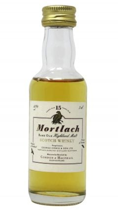 Mortlach - Speyside Single Malt Scotch Miniature 15 year old Whisky