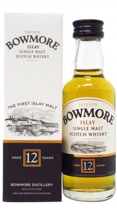 Bowmore - Islay Single Malt Miniature 12 year old Whisky