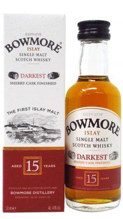 Bowmore - Islay Single Malt Miniature 15 year old Whisky