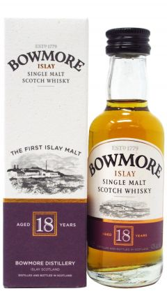 Bowmore - Islay Single Malt Miniature 18 year old Whisky