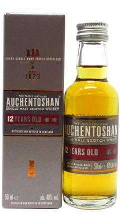 Auchentoshan - Lowland Single Malt Miniature 12 year old Whisky