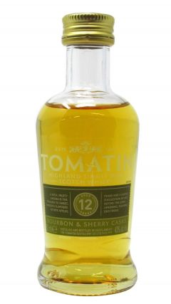 Tomatin - Highland Single Malt Miniature 12 year old Whisky