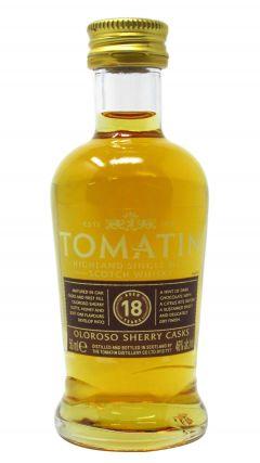 Tomatin - Highland Single Malt Miniature 18 year old Whisky