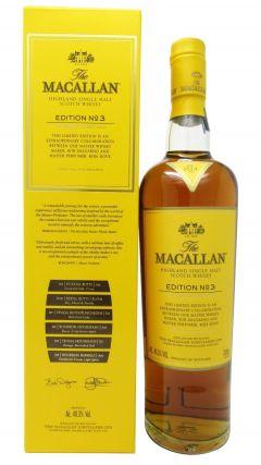 Macallan - Edition No. 3 - Roja Dove Whisky