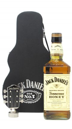 Jack Daniel's - Tennessee Honey Guitar Case (Hard To Find Whisky Edition) Liqueur