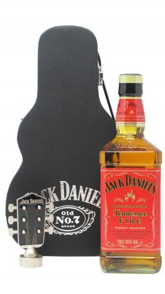 Jack Daniel's - Tennessee Fire Guitar Case (Hard To Find Whisky Edition) Whiskey