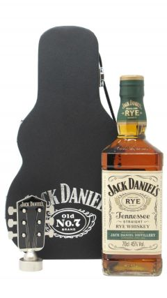 Jack Daniel's - Tennessee Rye Guitar Case (Hard To Find Whisky Edition) Whiskey
