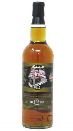 Speyside - Marshall 50 Years Of Amplification 1962-  2012 Single Malt 12 year old Whisky