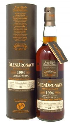 GlenDronach - UK Exclusive Single Cask #1376 - 1994 22 year old Whisky