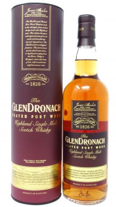 GlenDronach - Peated Port Wood  Whisky
