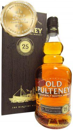 Old Pulteney - Single Malt Scotch 25 year old Whisky