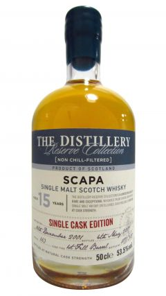 Scapa - Single Cask Editon #663 - 2001 15 year old Whisky