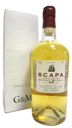 Scapa - Single Cask #1616 - 1993 14 year old Whisky