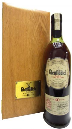 Glenfiddich - Rare Colletion 40 year old Whisky