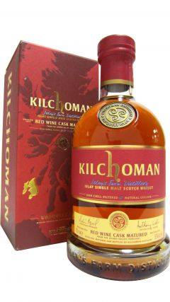 Kilchoman - Red Wine Cask Matured - 2012 5 year old Whisky