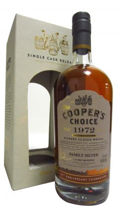 Lochside (silent) - Coopers Choice Family Silver 25th Anniversary - 1972 44 year old Whisky