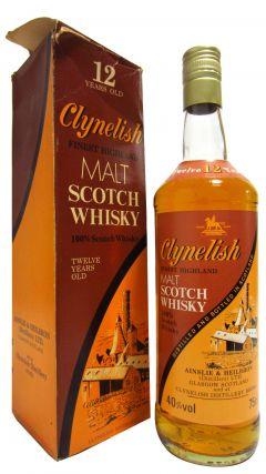 Clynelish - Finest Highland Malt 12 year old Whisky