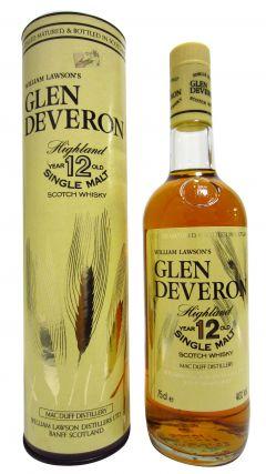 Glen Deveron - Highland Single Malt 12 year old Whisky