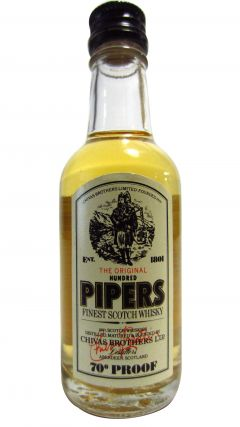 Chivas Regal - 100 Pipers Miniature Whisky